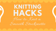 Prevent stockinette edges from curling, is that possible? Yes it is! And this article will teach how to do it and what to do if it has already curled away.