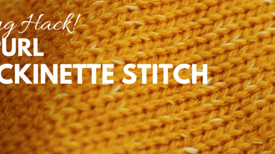 Don't Be Such a Square | Click to learn knitting in reverse | Knitting in Reverse let's you knit stockinette stitch without purling | Knitting backwards saves you time otherwise wasted on turning your work | This knitting hack makes short rows and following charts easier!