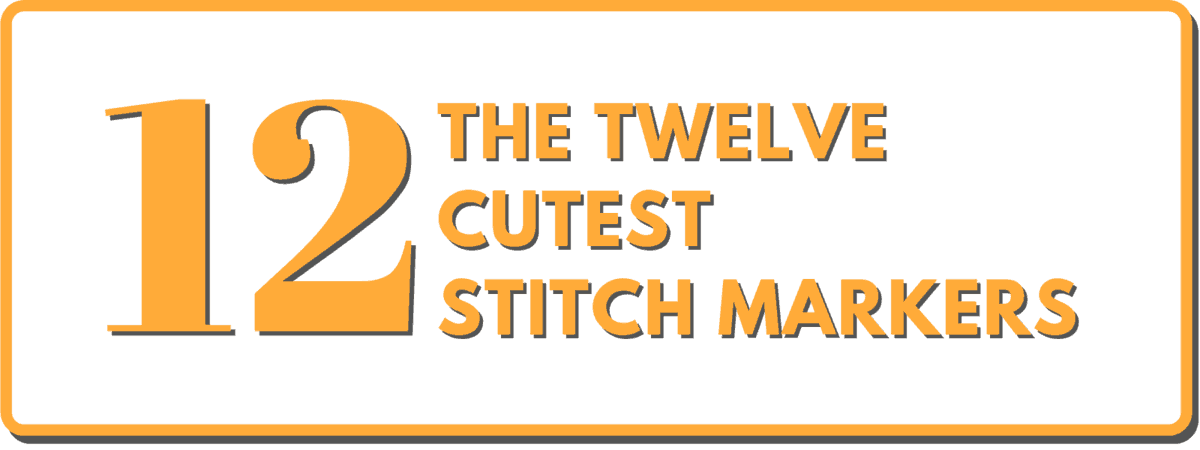 The Cutest Knitting Stitch Markers | Don't Be Such a Square