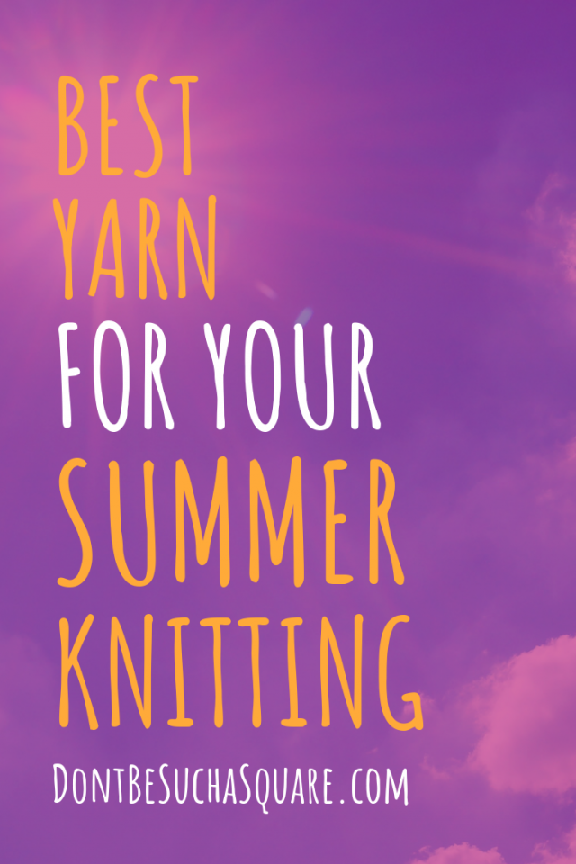 Best Yarn for your Summer Knitting! Click through to shop some beautiful linen yarn and get awesome tips on how to use them! #knitting #SummerKnits #LinenYarn #BestSummerYarns