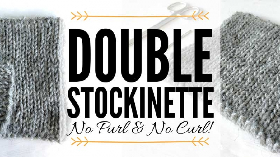 Double-Stockinette