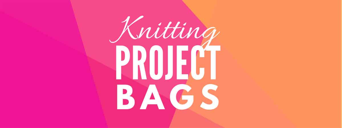 Knitting Project Bags – the best ones found on Amazon! A buyers guide for knitters project bags and totes. #Knitting #ProjectBag #BuyersGuide #ShoppingGuide #GiftGuide