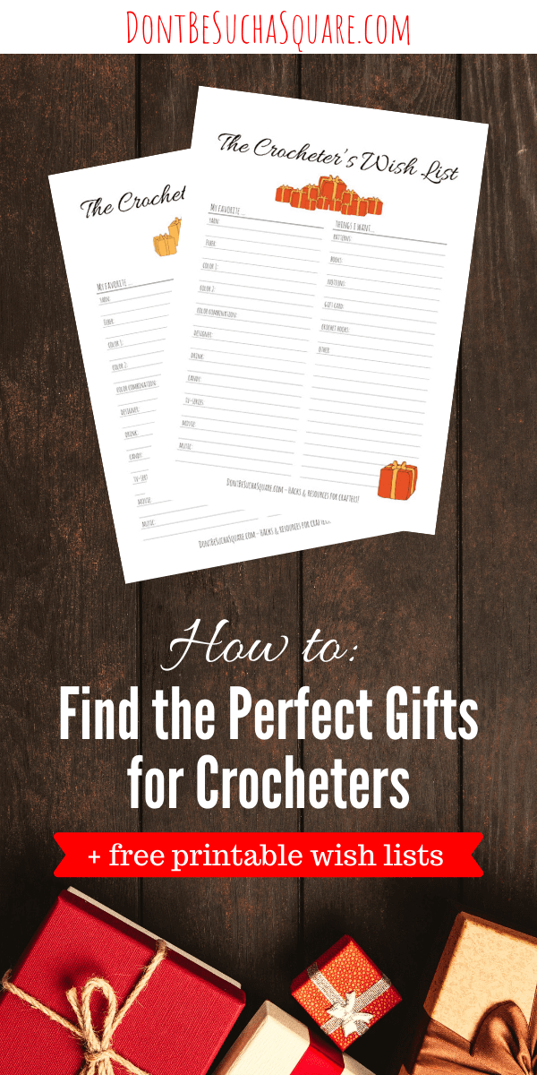 The Crocheter's Wish List | Few things are so deeply satisfying as giving someone a gift that they truly appreciate. This wish list is the perfect tool to help you find that perfect gift! #Crochet #GiftsForCrocheters #WishList #PerfectGifts #Holidays