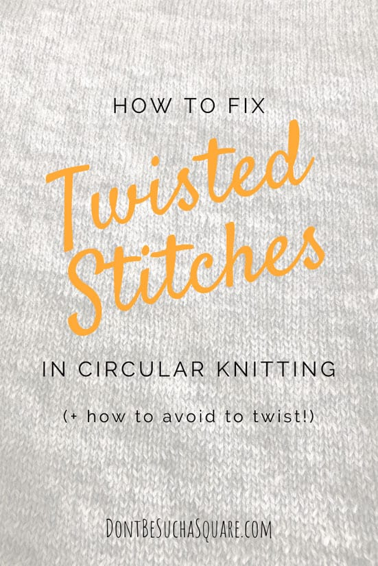 Fix Twisted Stitches | It's easily done to twist the cast on before joining in circular knitting. Learn the best tips for avoiding this, and what to do when it happens! #knitting #FixTwistedStitches #KnittingTips