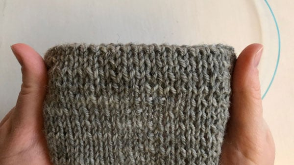 "Trouble shooting Stockinette Stitch | If your purl stitches are looser than your knit stitches they become bigger and stand out a bit, creating a striped effect. This is called ""Rowing out""."