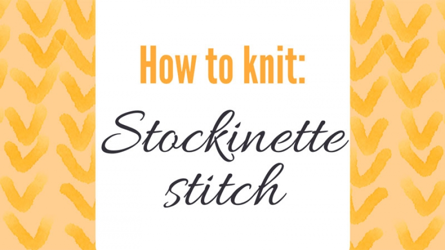 Stockinette-stitch-top