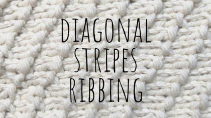 Diagonal-stripes-ribbing-top
