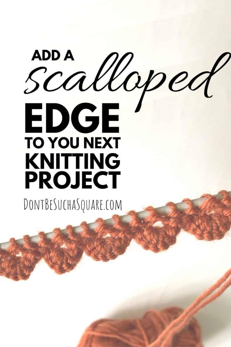 Scalloped Cast-on edge