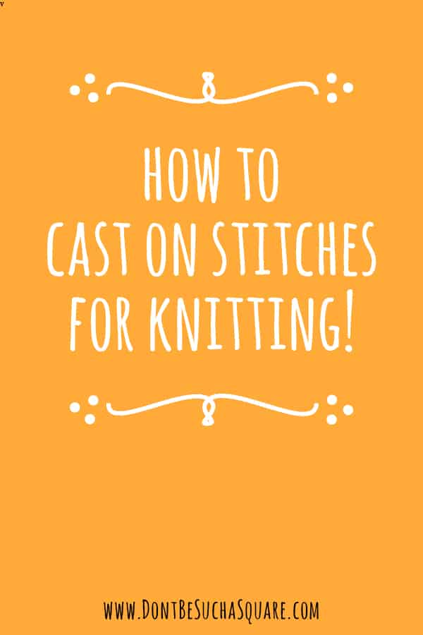 How to make a slip knot for knitting and crochet