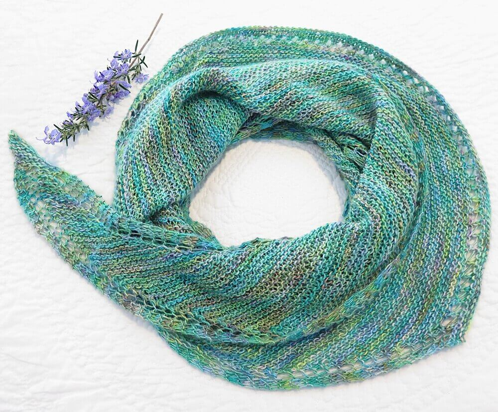 MK#18 a knitting pattern designed by Minimal Knits. This scarf would look amazing in Natura Linen.