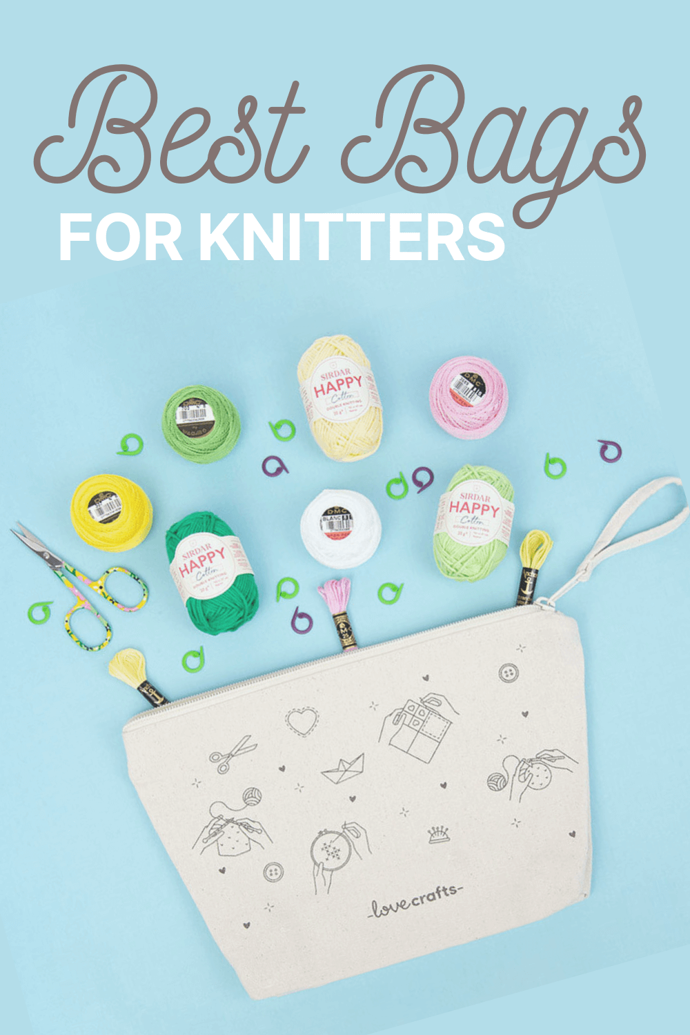 Best project bags for knitters