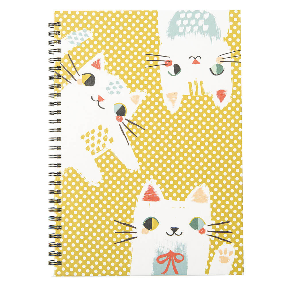 Meow Meow a cute notebook purrfect for taking knitting notes