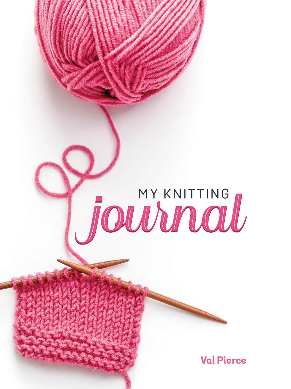 My knitting journal a project notebook for your knits