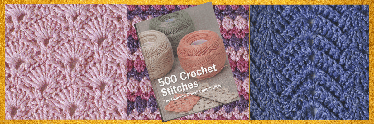 best gifts for crocheters Book: 500 crochet stitches