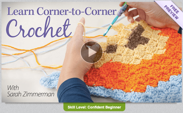 Classes on techniques makes great gifts for crocheters!
