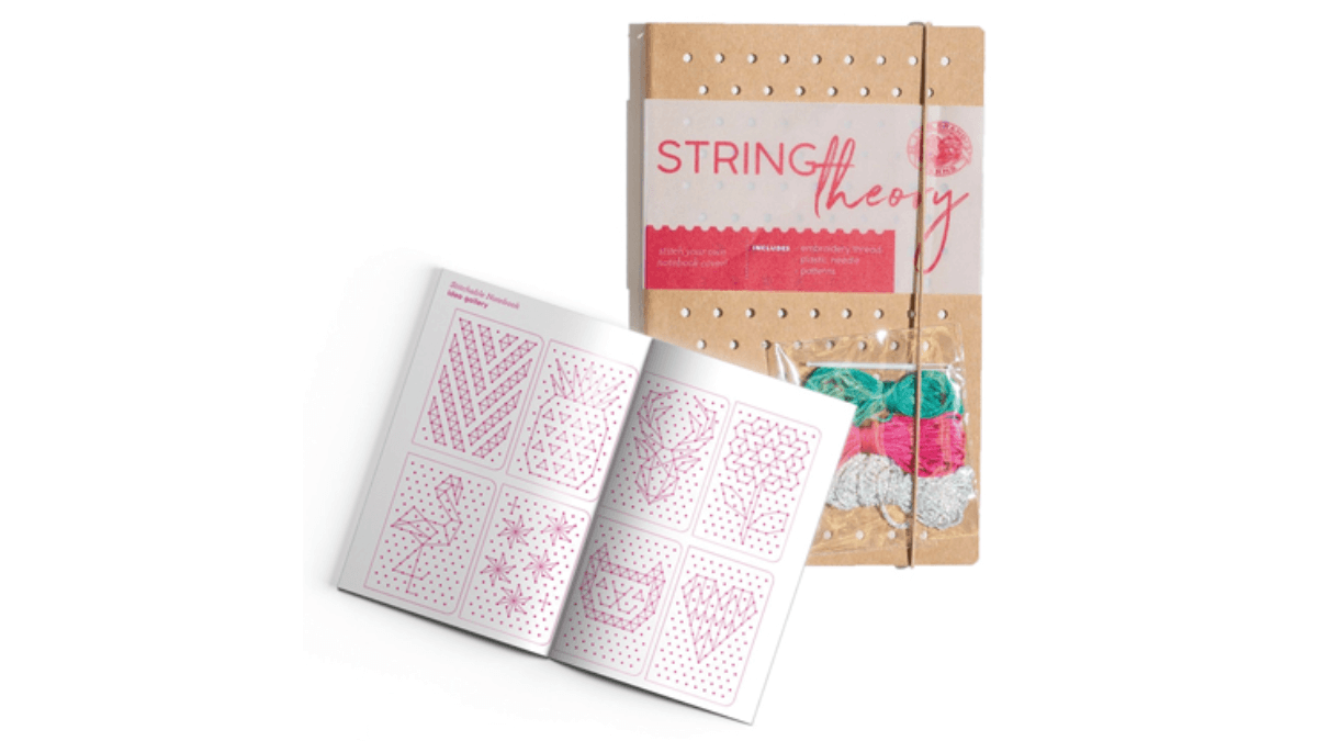 String Theory – a fun customisable notebook