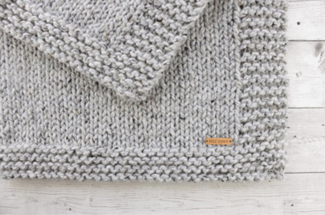 Hug Baby Blanket Knit pattern