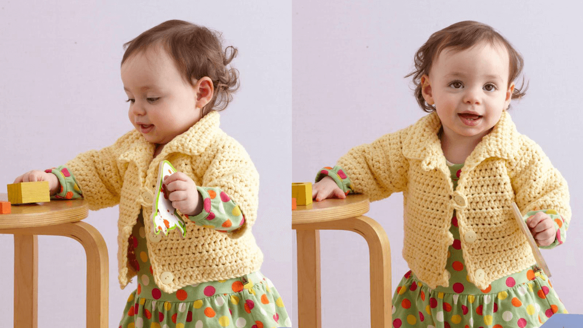 Soft and simple raglan cardigan free crochet pattern