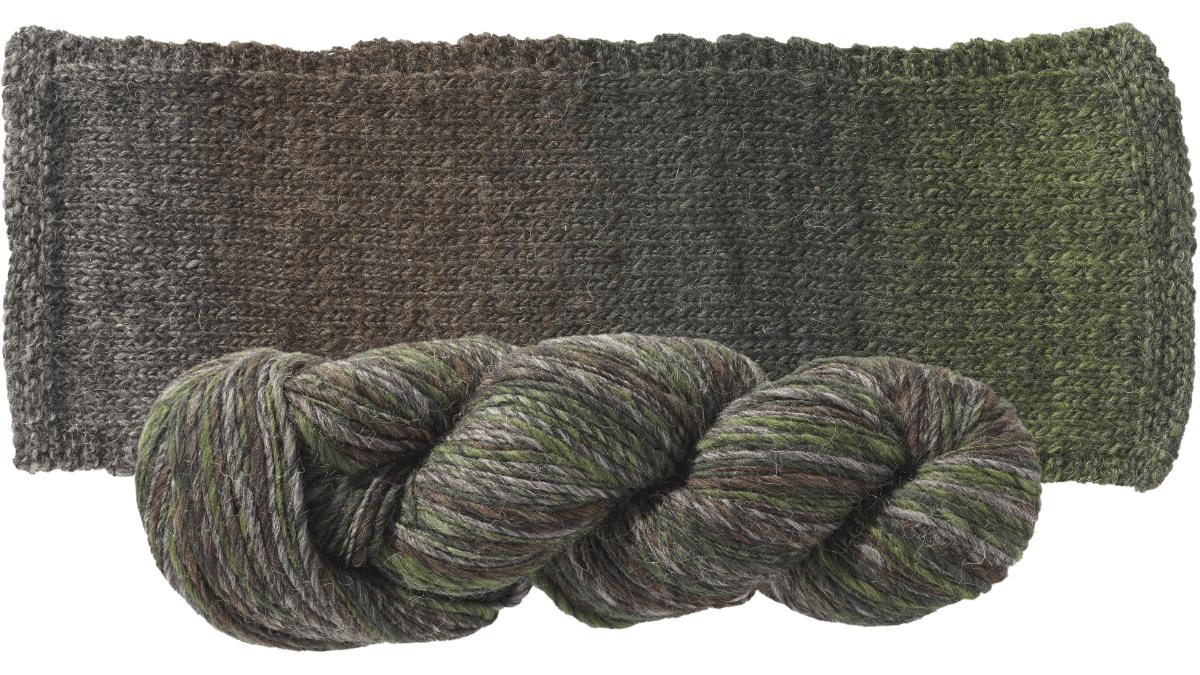 Motley from Sugar Bush Yarn is an extraordinary yarn spun from the finest alpaca and merino wool.