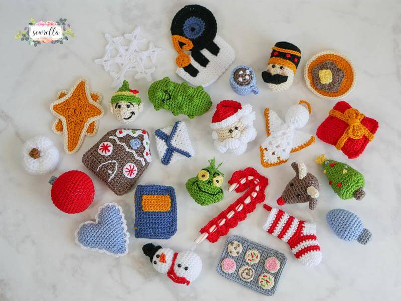 Sewrella's 25 Days of Christmas Ornaments CAL Kit